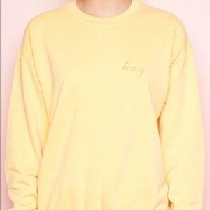 Brandy Melville Honey Sweatshirt